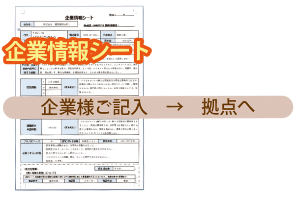 企業情報シート